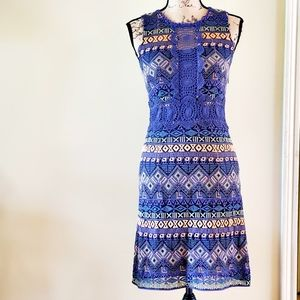 NWT Cato patterned lace dress